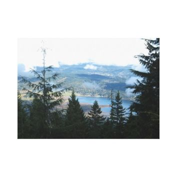 Scenic Overlook Stretched Canvas Prints