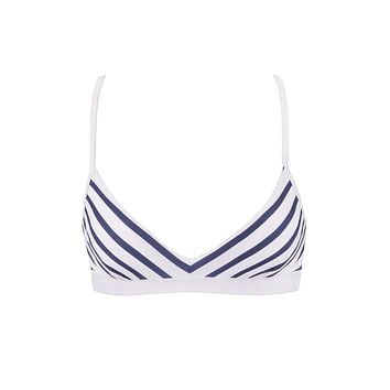 Portofino Triangle Bikini Top - Stripes