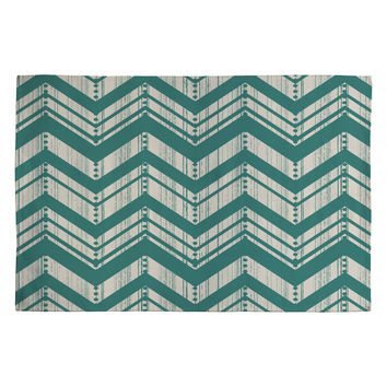 Heather Dutton Weathered Chevron Woven Rug