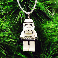 Star Wars Stormtrooper Christmas Tree Ornament, Stocking Stuffer, gift
