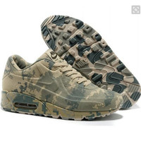 """NIKE"" Trending Fashion Personality Camouflage Casual Sports Shoes green"