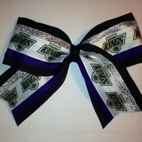 NHL LA Kings Cheer Bow