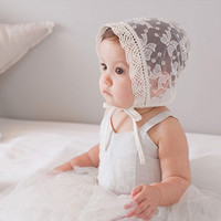 Lace Breathable Palace Hat Princess Hat for Baby