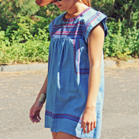 Chambray Clouds Dress