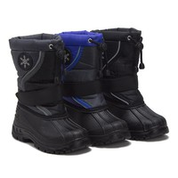 Unisex Kids Icy-61 Fur Lined Water Resistant Winter Rain & Snow Boots