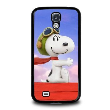 snoopy dog samsung galaxy s4 case cover  number 1