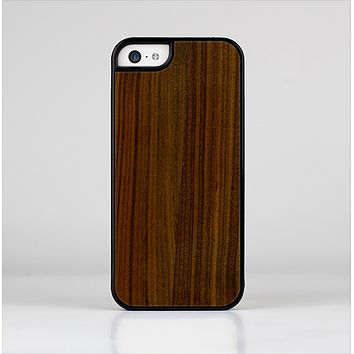 The Dark Walnut Wood Skin-Sert Case for the Apple iPhone 5c