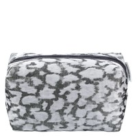 Designers Guild Ciottoli Graphite Large Toiletry Bag