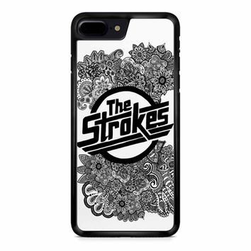 The Strokes Zentangle Logo iPhone 8 Plus Case