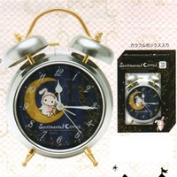 San-X Sentimental Circus Midnight Alarm Clock: Silver