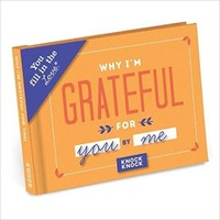 Knock Knock Why I'm Grateful for You Fill in the Love Journal Hardcover – June 1, 2017