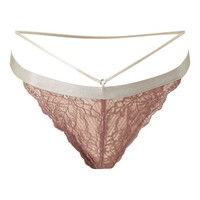 Strappy Lace Thong - Lingerie - Clothing