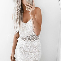 Lace The Day Two-Piece Dress - FINAL SALE
