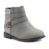 Carter's Toddler Girls' Fashion Boots (Grey)