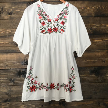 Ramblin Rose Boho Dress