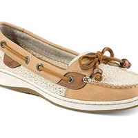 Sperry Top-Sider Womens Angelfish Sand Cotton Mesh Boat Shoes STS91249