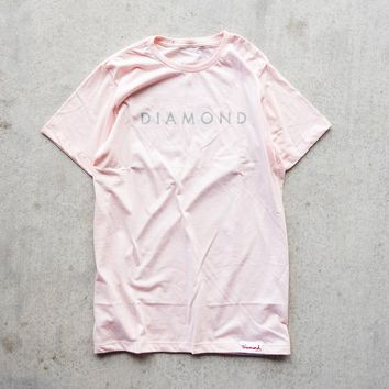 Diamond Supply Co. Practice Tee - Pink