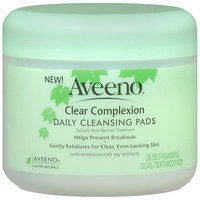 Aveeno Clear Complexion Daily Cleansing Pads | Walgreens