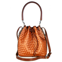 I liked this design on #Fab. Susan Bucket Bag Dot Bronze