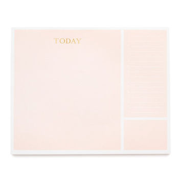 Today, Pink Desk Pad