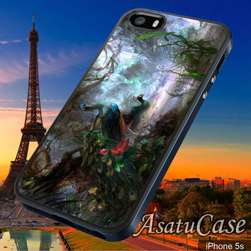 Beautiful Peacock - Samsung Galaxy S2/S3/S4,iPhone 4/4S,iPhone 5/5S,iPhone 5C,Rubber Case,Cell Phone,Case,Accessories - 211013/CA10