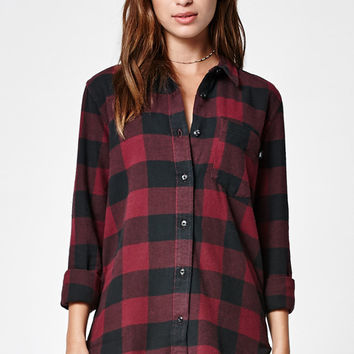 Vans Moody Blues Flannel Button-Down Shirt at PacSun.com