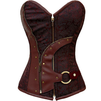 Women's Hot Sexy Underbust Bustier Waist Cincher Training Corsets Body Shapers Wear For Fitness Sexy Lingerie Corset = 4804895556