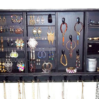 Jewelry Organizer,  Jewelry Holder, Earring Holder. Ring Holder, Jewelry Display Furniture