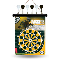 Green Bay Packers NFL Magnetic Dart Board