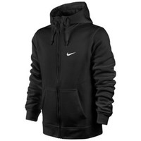 Nike Club Swoosh Full Zip Hoodie - Men's at Foot Locker