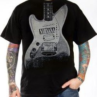 ROCKWORLDEAST - Nirvana, T-Shirt, Guitar Discharge