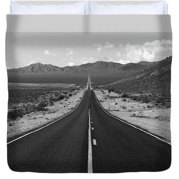 The Road Route 66 - Duvet Cover