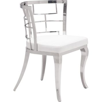 Quince Dining Chair White (Set of 2)
