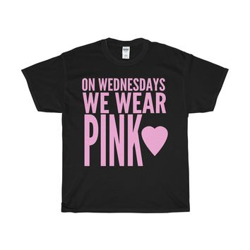 On Wednesdays We Wear Pink T-Shirt Inspired By Mean Girls Rules