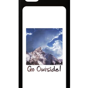 Go Outside Mountain iPhone 5 / 5S Grip Case  by TooLoud