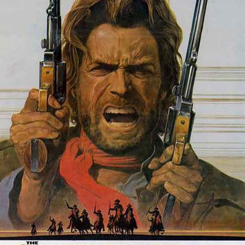 Outlaw Josey Wales Movie Poster 11x17