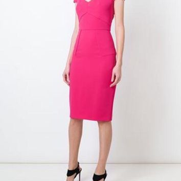 ONETOW Roland Mouret 'Casson' Dress - Farfetch
