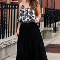 Home Before Daylight Maxi Skirt