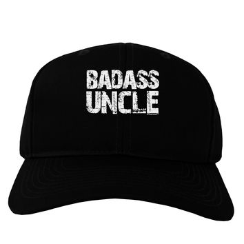 Badass Uncle Adult Dark Baseball Cap Hat by TooLoud