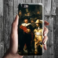 Night Watch - Rembrandt iPhone Case 6, 6S, 6 Plus, 4S, 5S. Mobile Phone Cell. Art Painting. Gift Idea. Anniversary. Gift for him and her