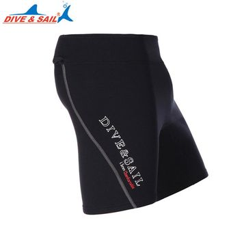 1.5MM Neoprene Diving Shorts Men Swimming Short Pants Spearfishing Diving Clothes Equipment Warm Winter Women Surfing Wetsuit