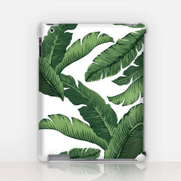 Banana Leaves iPad Case For - iPad 2, iPad 3, iPad 4 and iPad Mini, Fine Art Hard Case