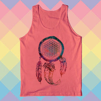 Bring Me The Horizon Dream Catcher Galaxy Tank top funny Tank top unisex adult size s-xxl