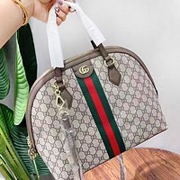 GUCCI New fashion more letter leather shoulder bag handbag women