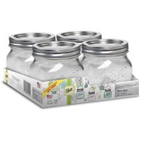 Ball Collection Elite 16-Ounce Mason Jars, 4-Pack - Walmart.com