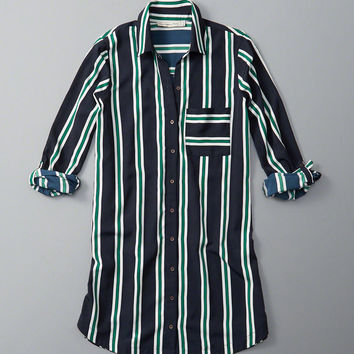 Womens Pocket Shirt Dress | Womens New Arrivals | Abercrombie.com