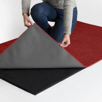 Ruggable 2-Piece Washable Rug System - Solid Chenille