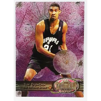 1997 METAL UNIVERSE (SKYBOX) #66 TIM DUNCAN ROOKIE CARD NBA BASKETBALL WAKE FOREST SPURS HOF?