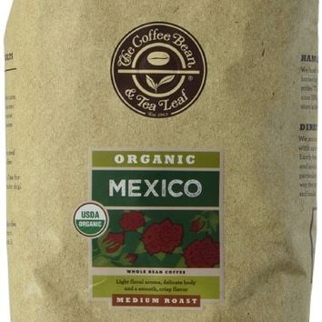 The Coffee Bean & Tea Leaf Mexico Organic Whole Bean Coffee, 2 Pound