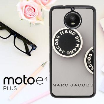 Marc Jacobs Logo X4230 Motorola Moto E4 Plus Case